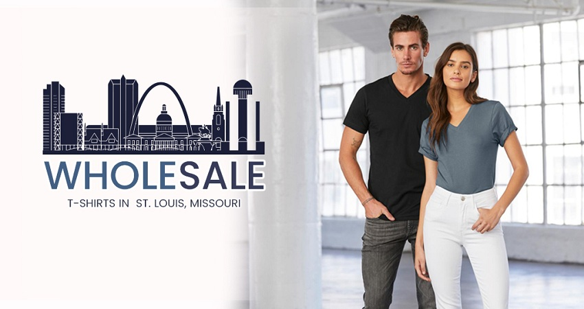 The Best Stores to Get Wholesale T-Shirts in St. Louis, Missouri.