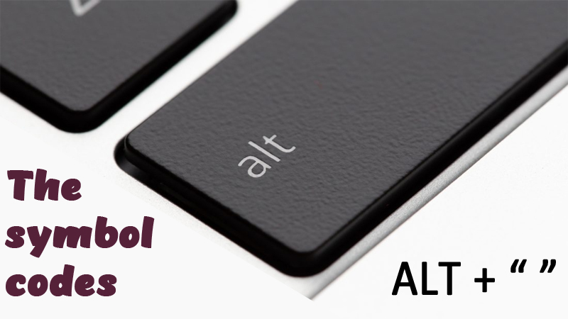 alt keys