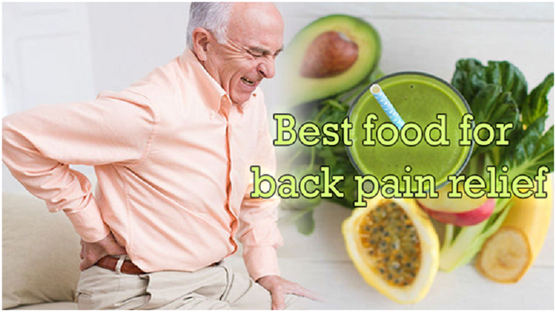 healing food for back pain