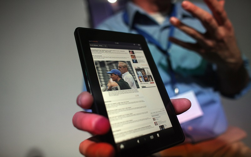how to reset kindle fire